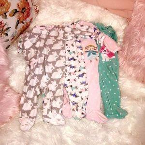 Carters Fleece Footsie Pajamas Infant